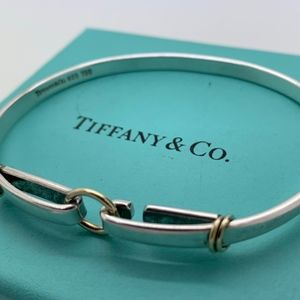 Tiffany & Co.925 18KT Hook Up Bracelet
